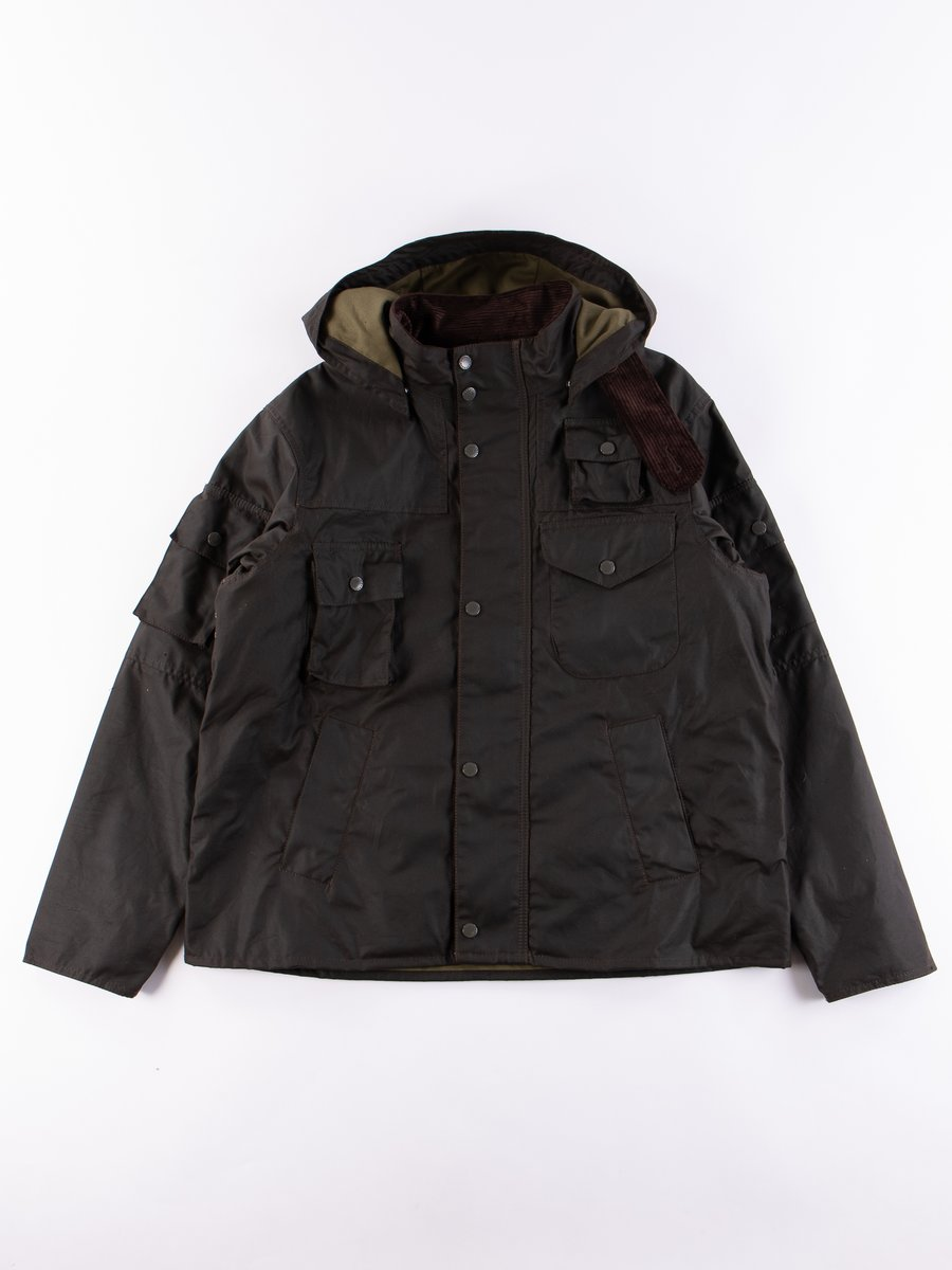 Olive Cowen Wax Jacket