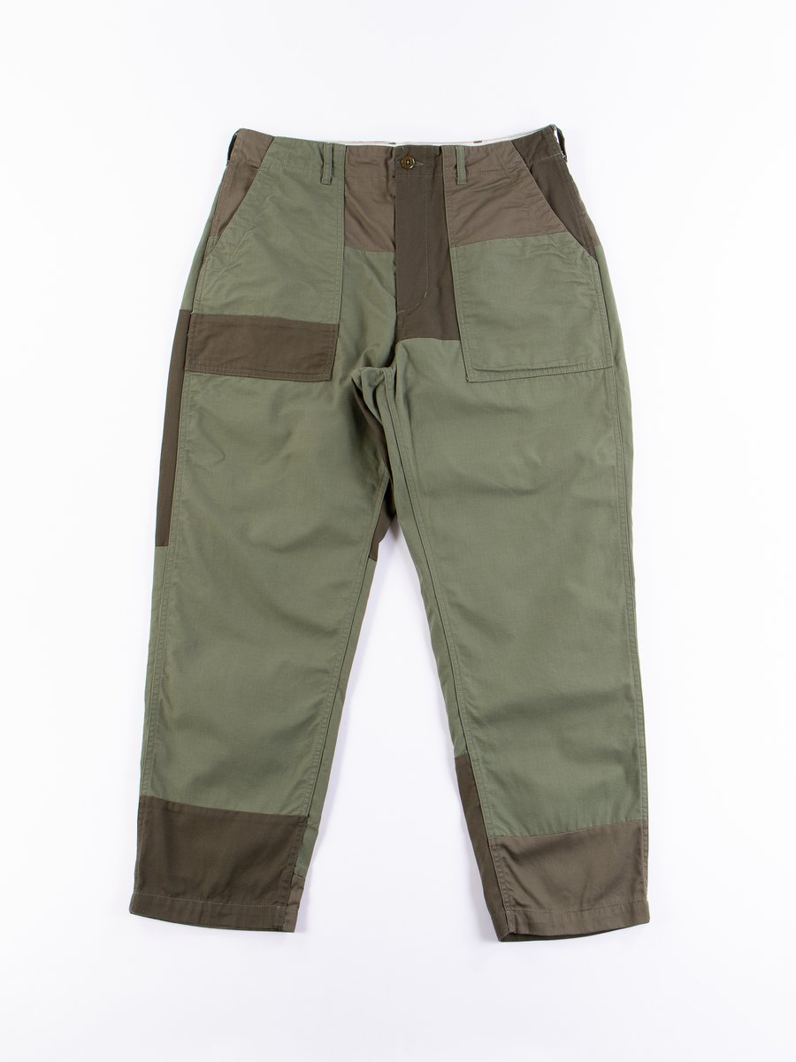 Olive Cotton Ripstop Fatigue Pant