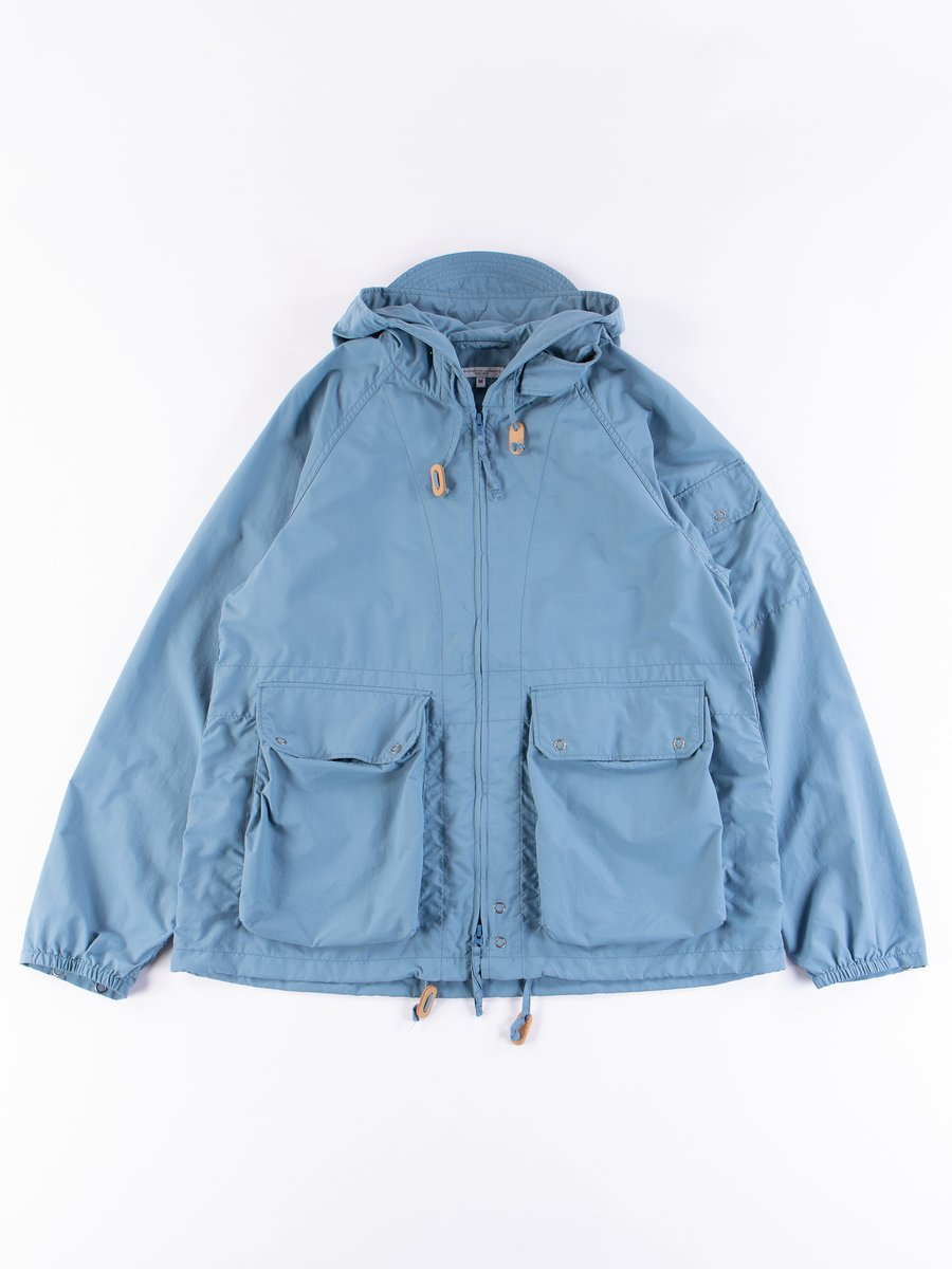 Light Blue Acrylic Coated Nylon Taffeta Atlantic Parka