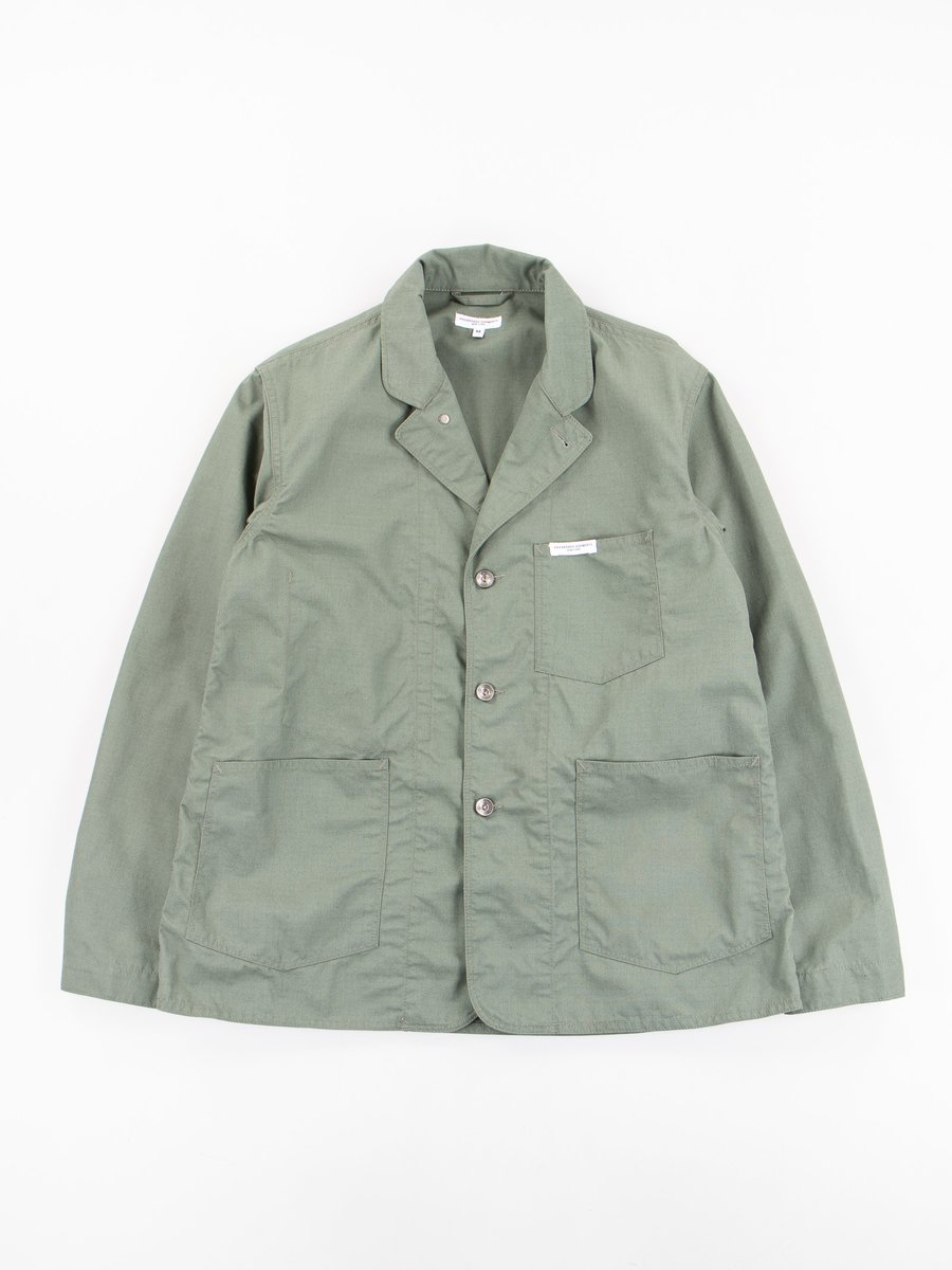 Olive Nyco Ripstop Workers Jacket