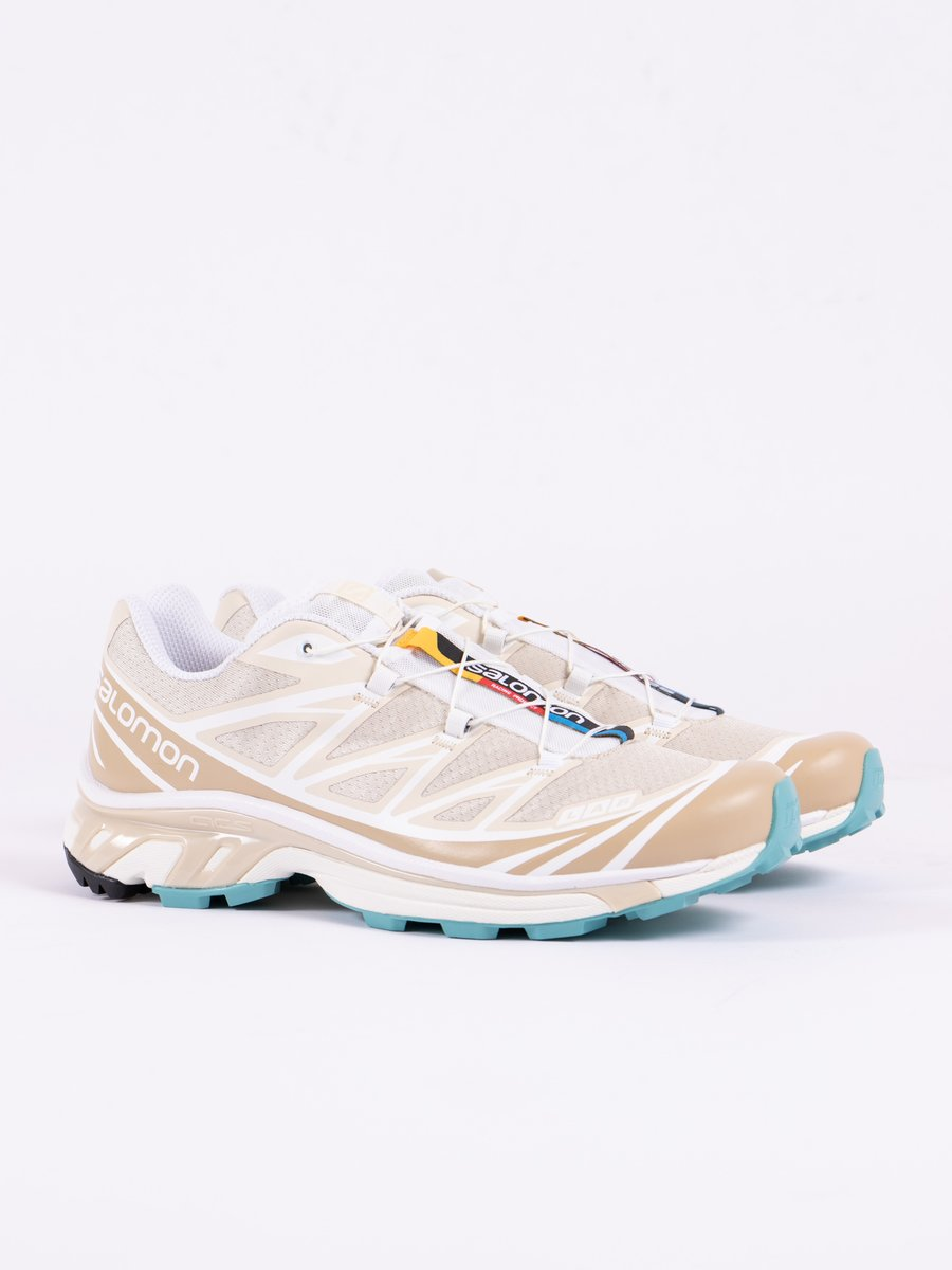 Bleached Sand/White/Meadowbrook XT–6 Softground Lt Adv
