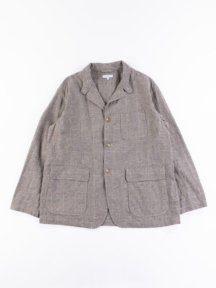 Grey CL Glen Plaid Loiter Jacket
