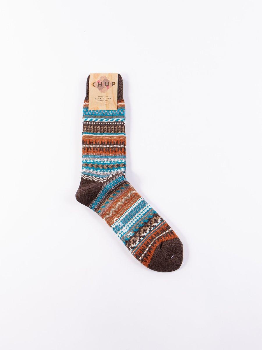 Chocolate Butte Socks