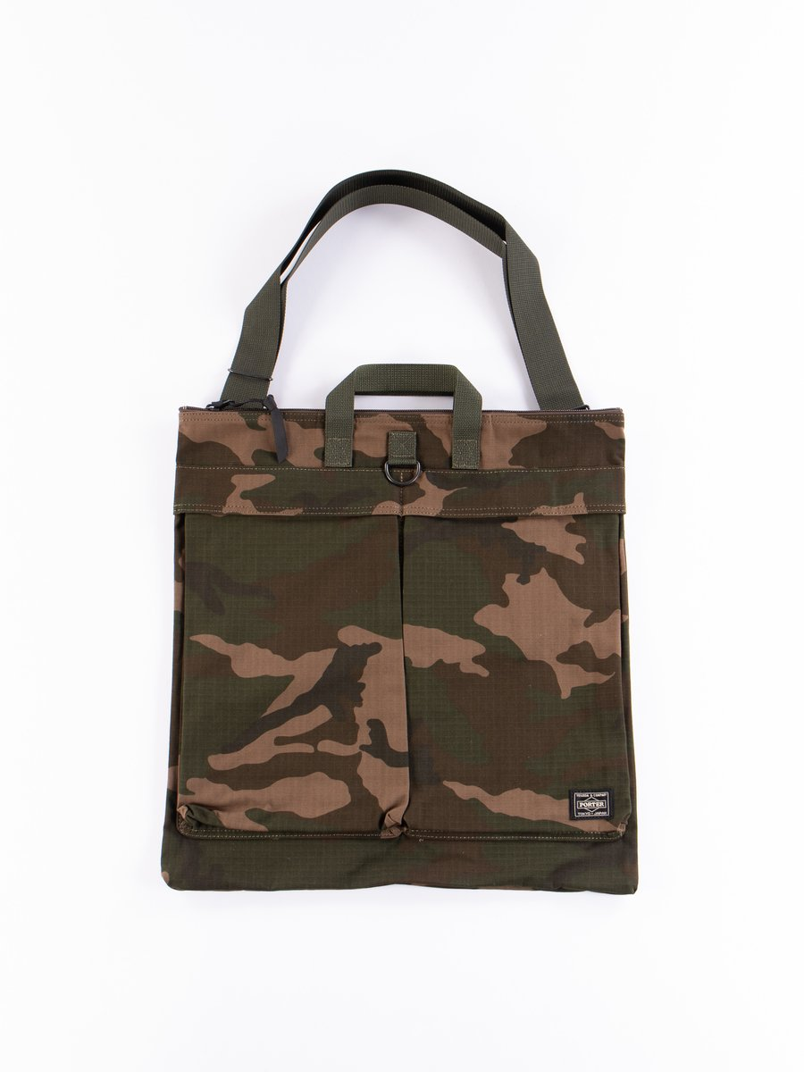 Woodland Olive Platoon 2Way Helmet Bag