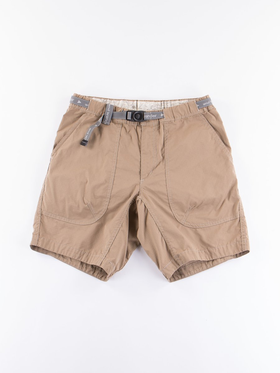 Beige Dry Ripstop Shorts