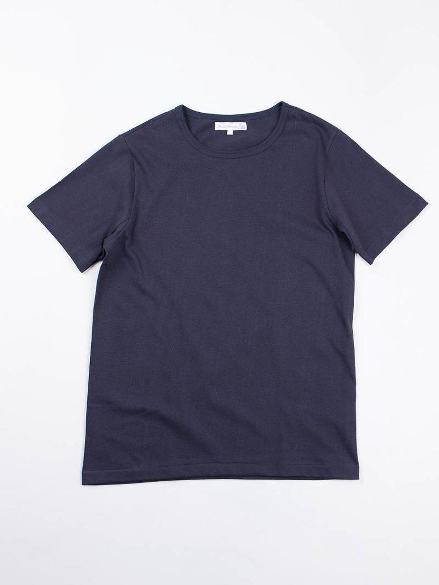 Dark Navy 215 Organic Cotton Army Shirt