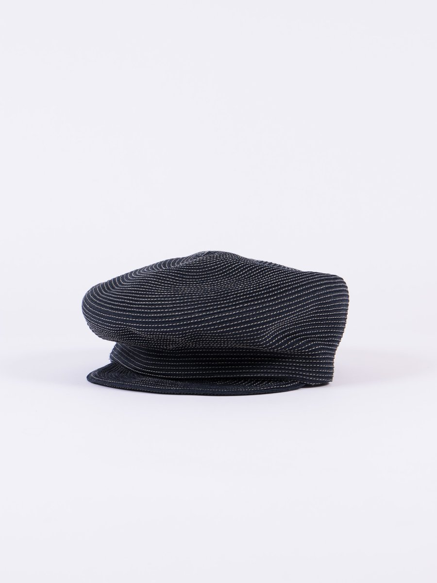 Navy Coton Braid Marine Cap