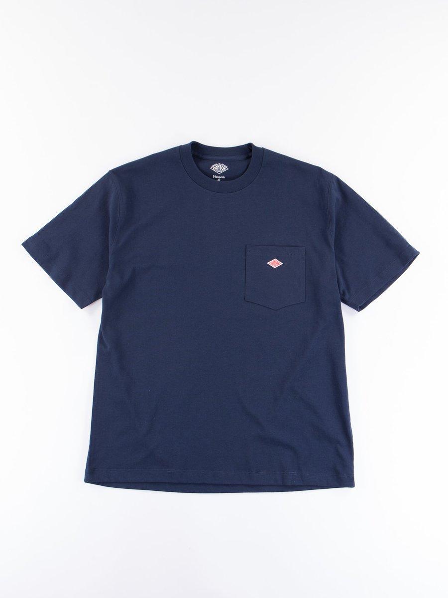 Navy Jersey Cotton T–Shirt