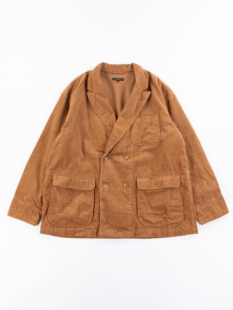 Chestnut Cotton 8W Corduroy DL Jacket