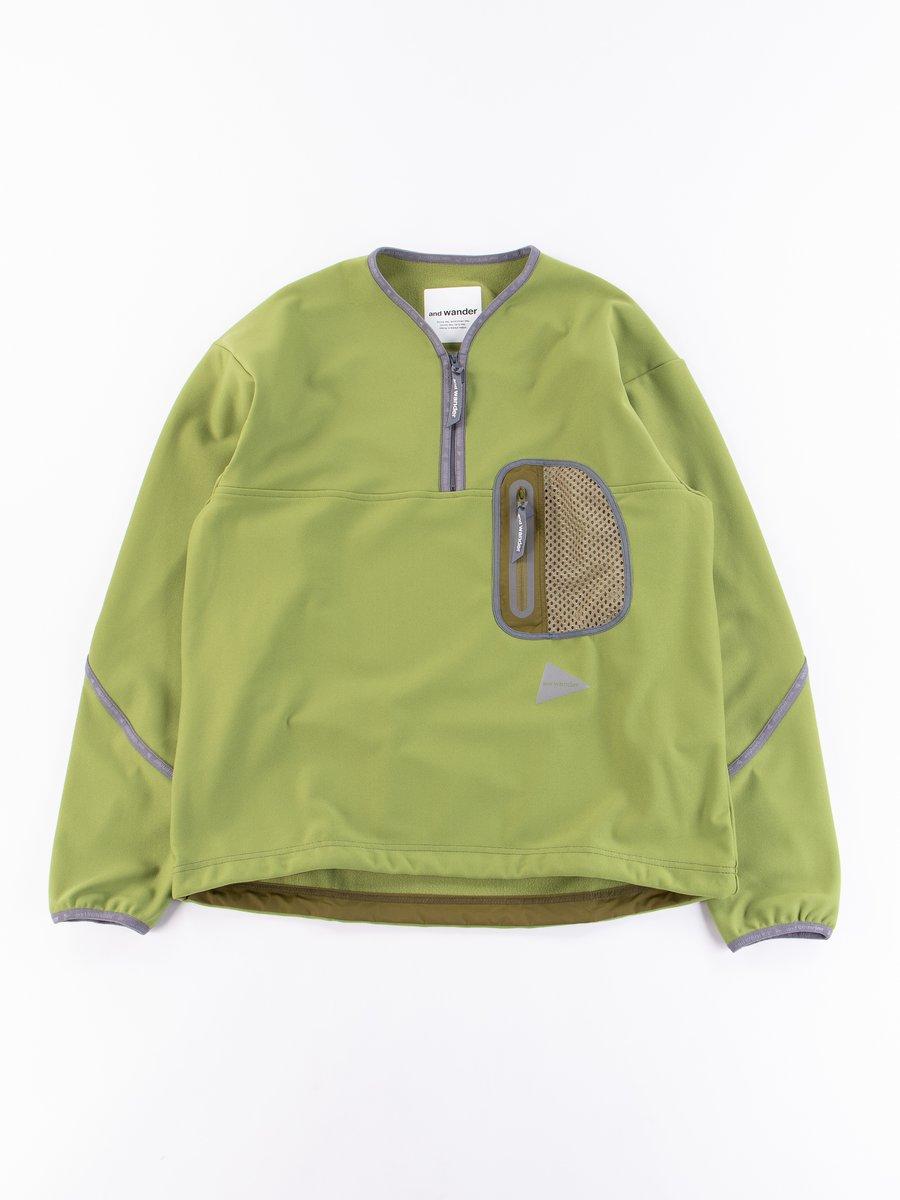 Yellow Green Light Fleece Pullover