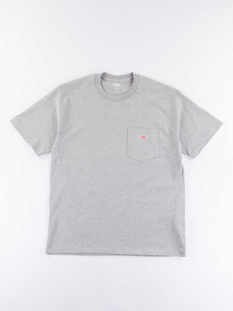Heather Grey Jersey Cotton T–Shirt