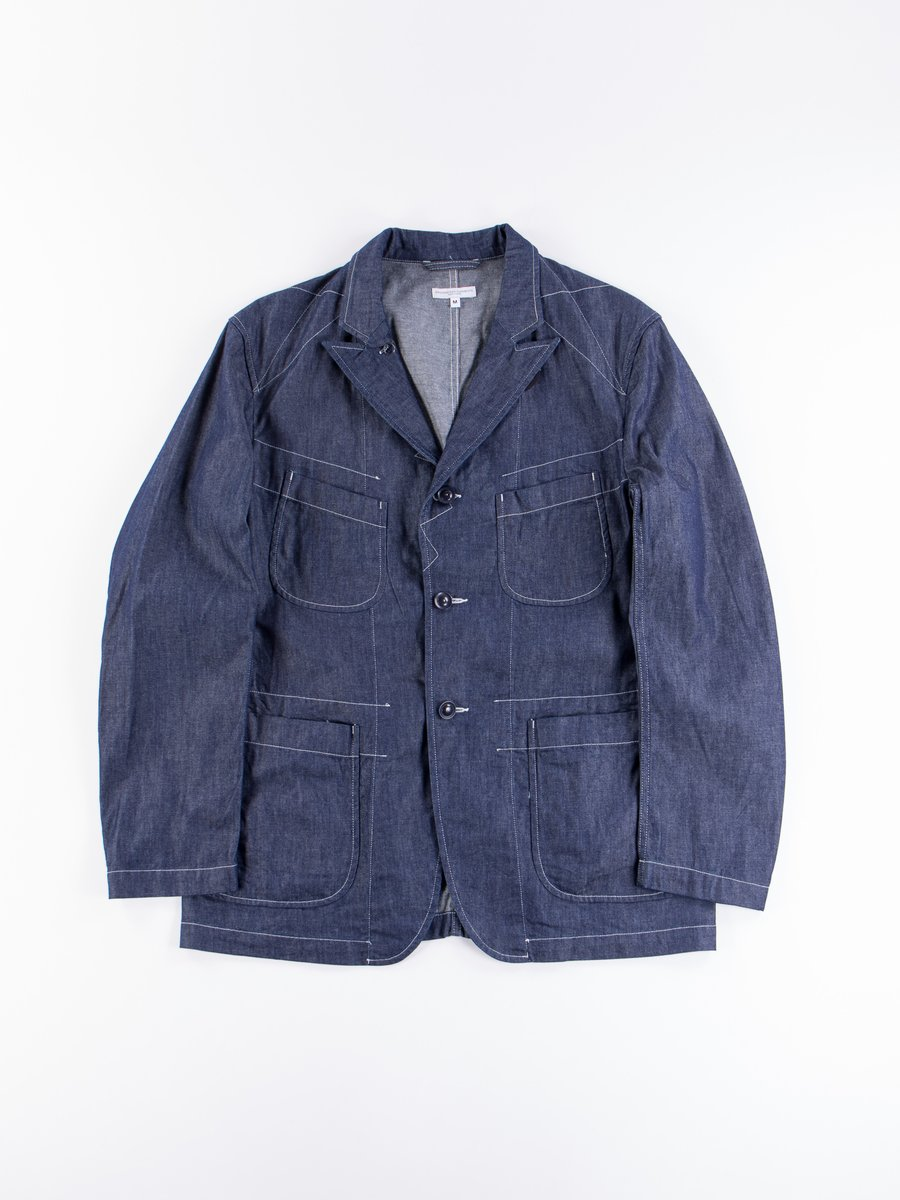 Indigo 8oz Cone Denim Bedford Jacket