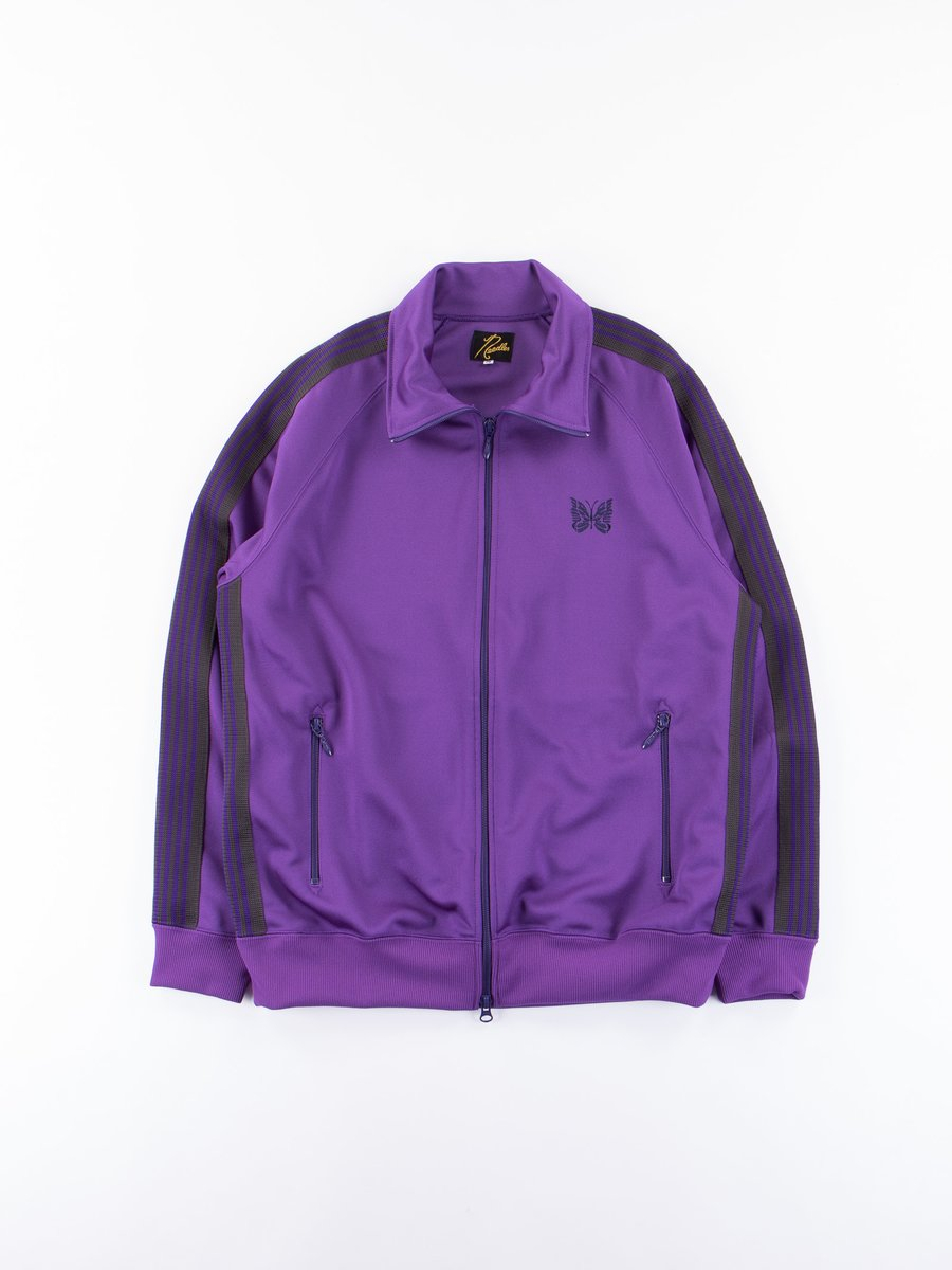 Purple Track Jacket