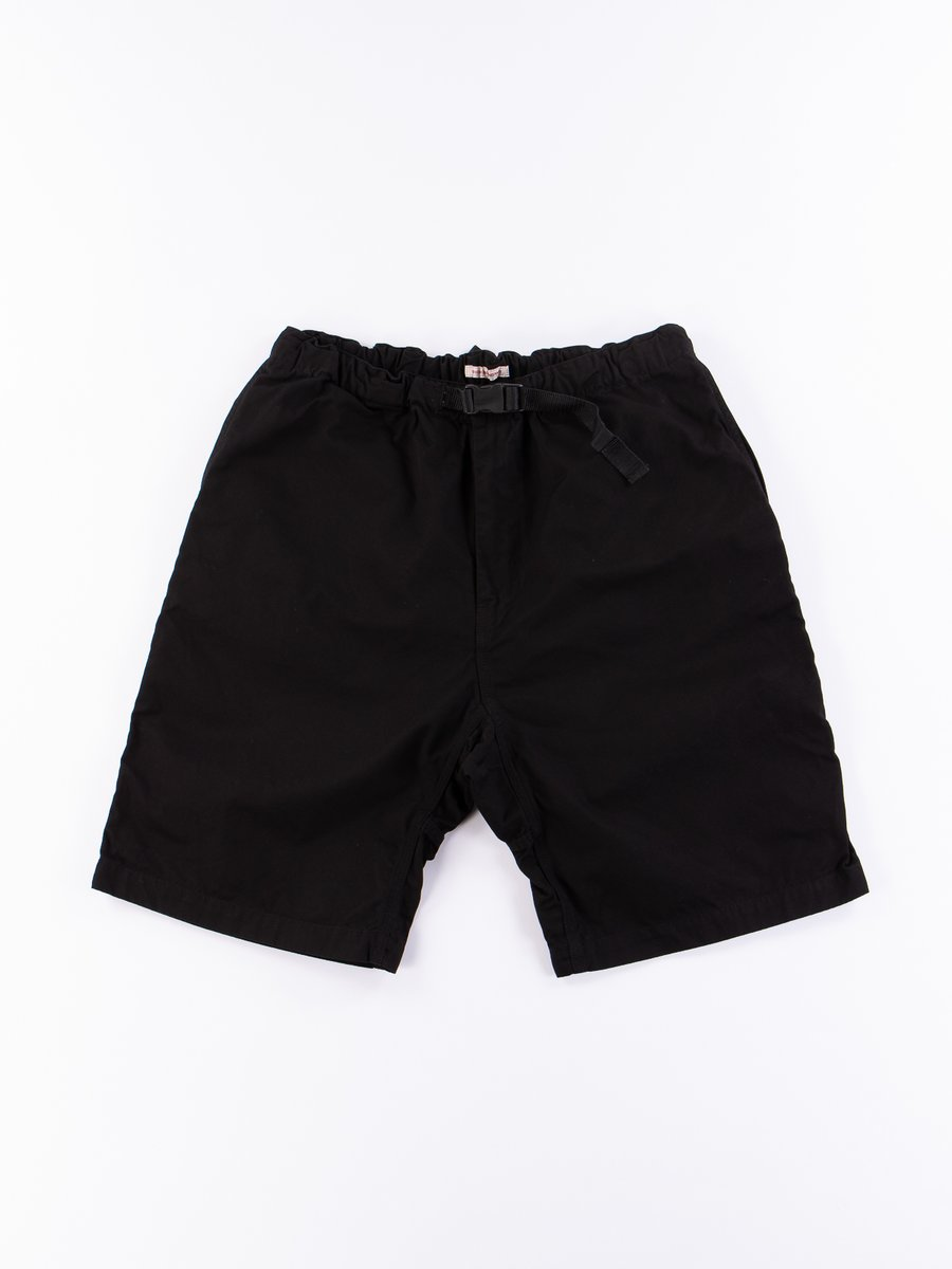 Black Overdyed Poplin TBB Climbing Short