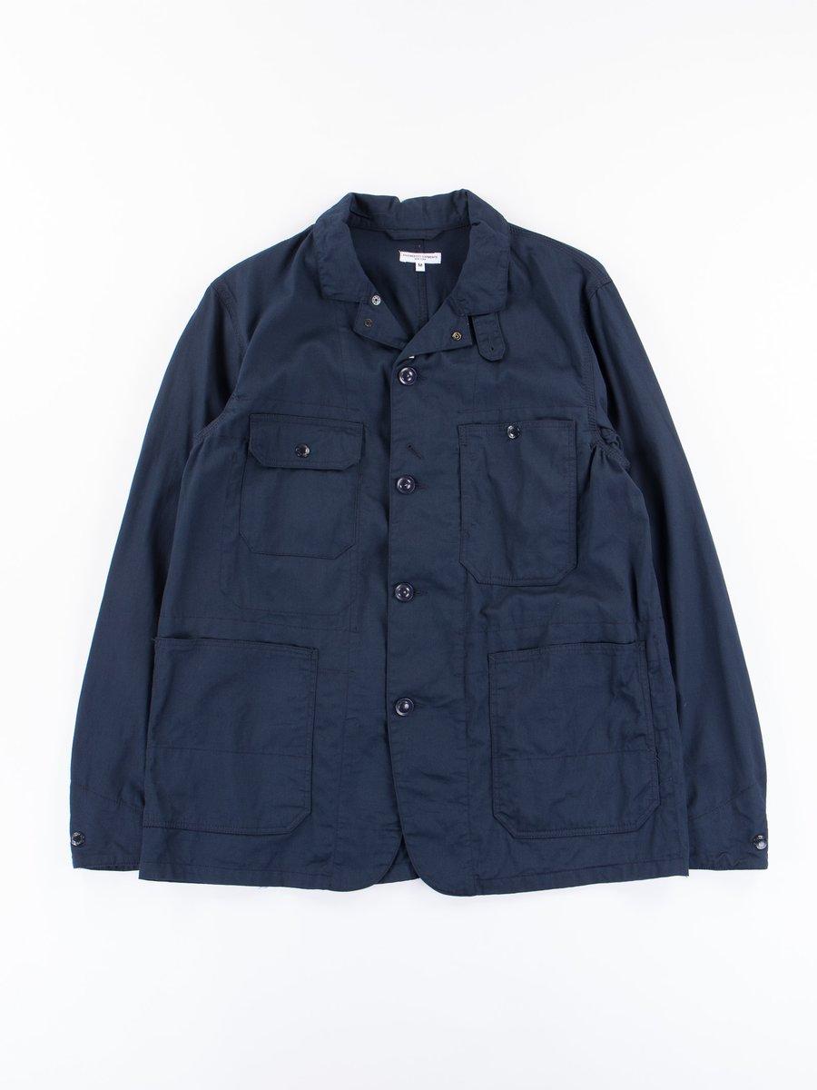 Dark Navy 7.5oz Twill Logger Jacket