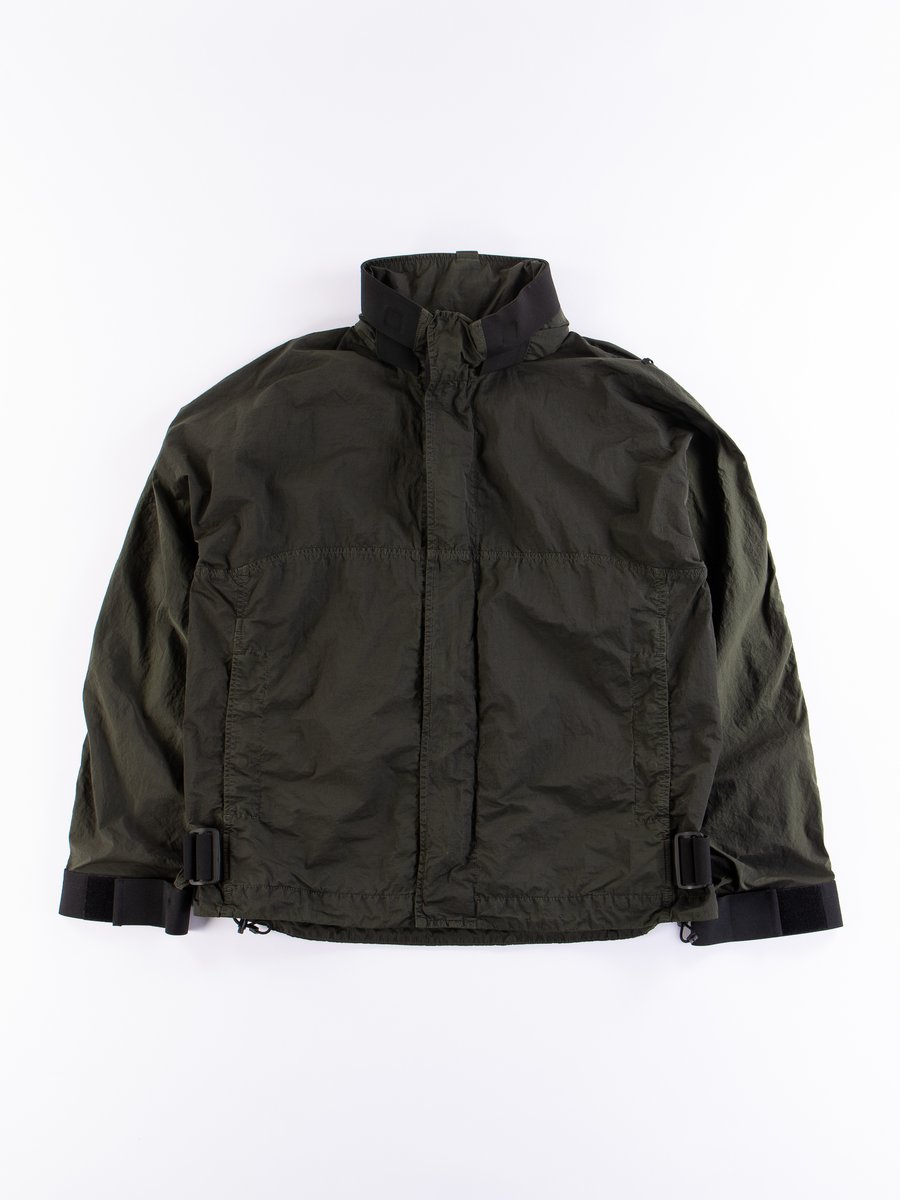 Military Green Guard Jacket