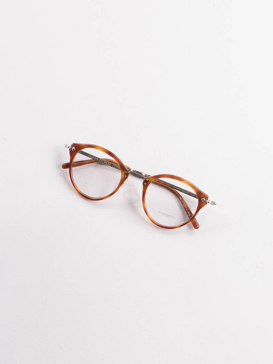 Semi–Matte LBR Vintage OP–505 Optical Frame