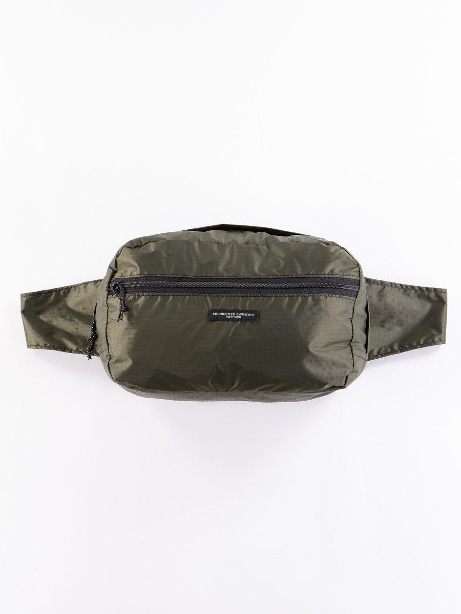 Olive Nylon Ripstop UL Waistpack