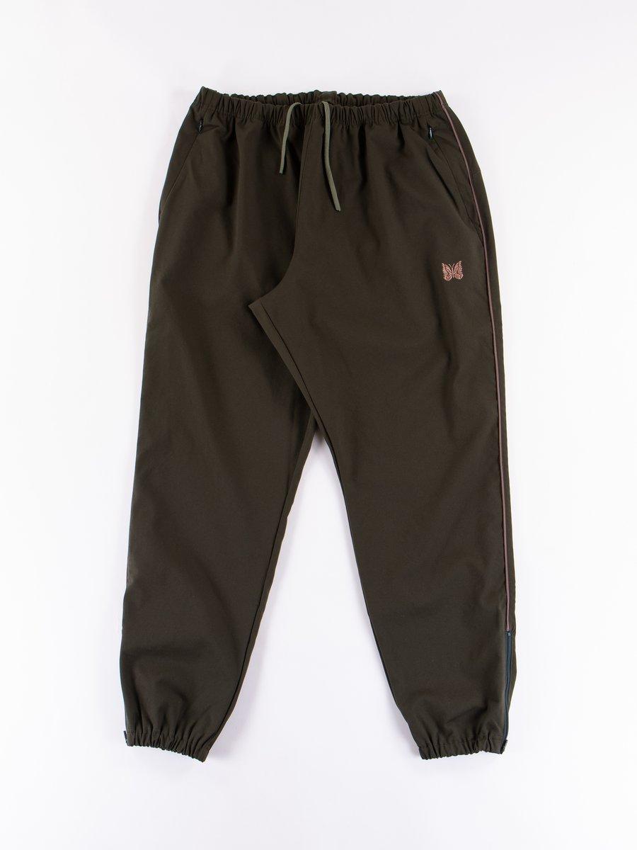Green Side Seam Pocket Easy Pant