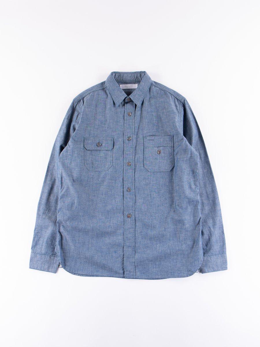 Indigo Hinomaru Shirt