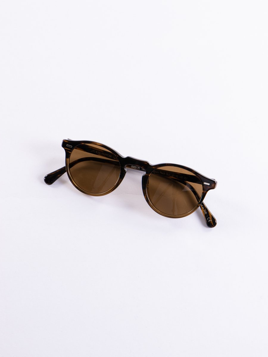 8108 Tortoise Gregory Peck Sunglasses