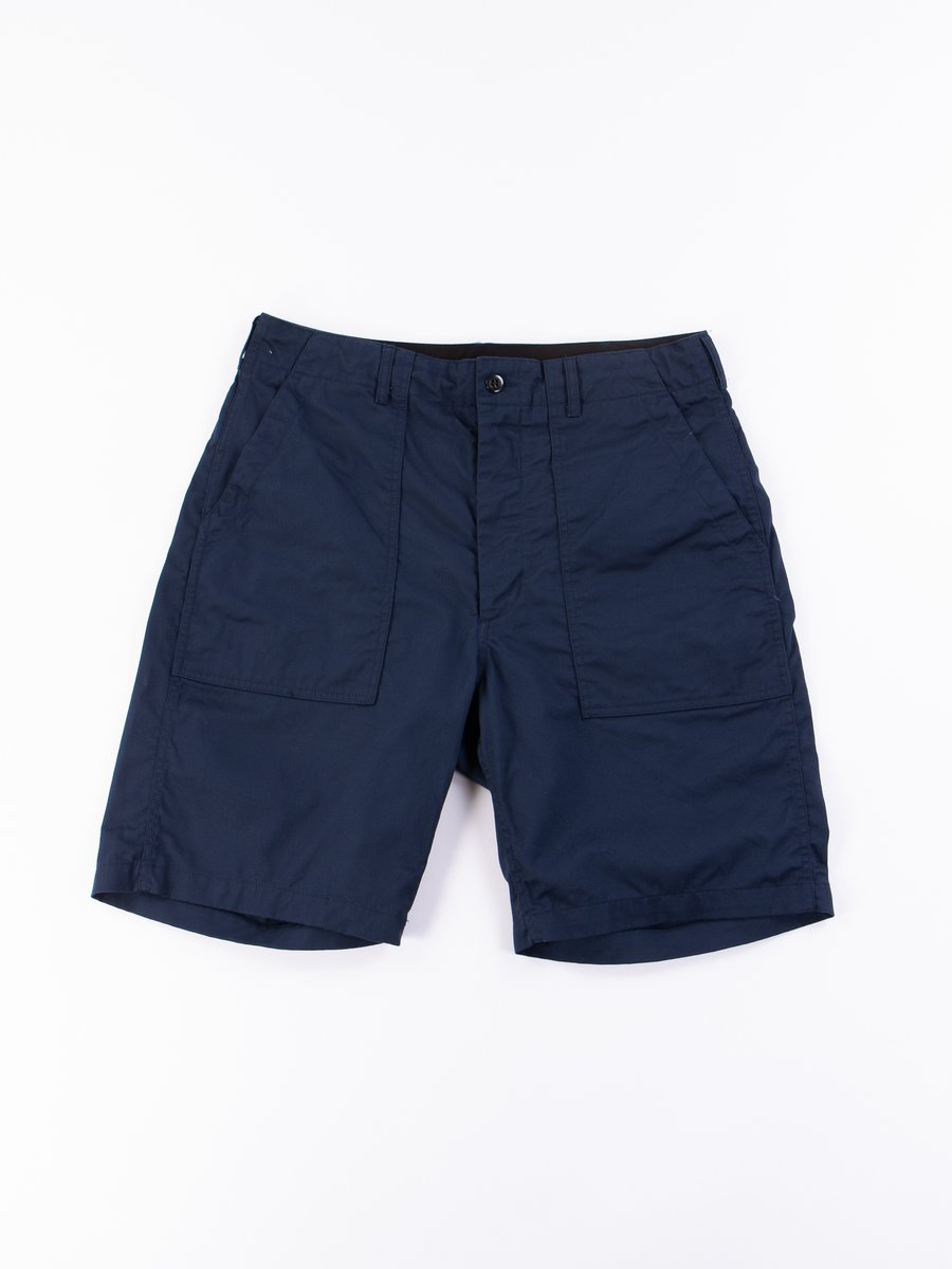 Navy 6.5oz Flat Twill Fatigue Short