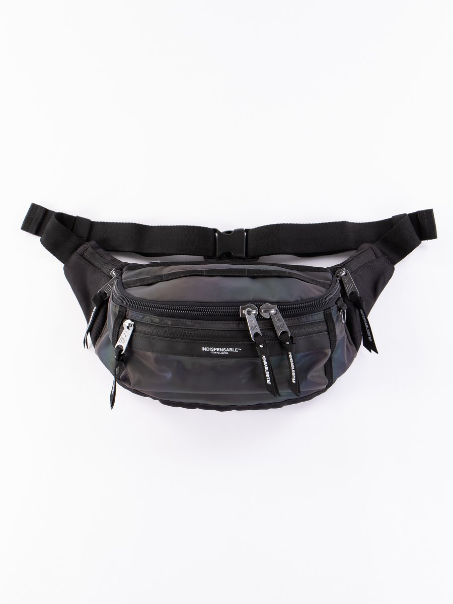 Black Aurora Attach IDP Belt Bag