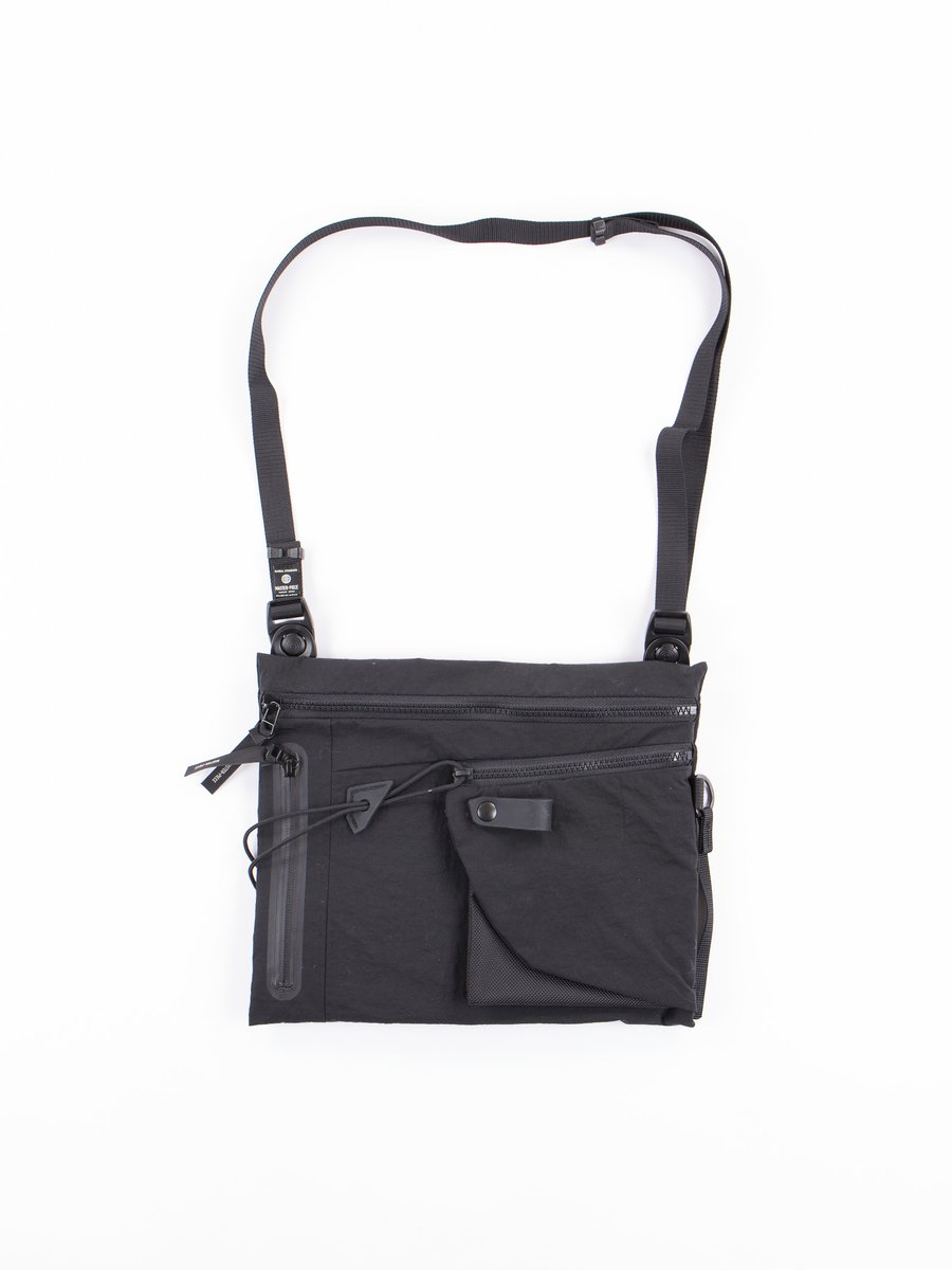 Black Game Shoulder Bag