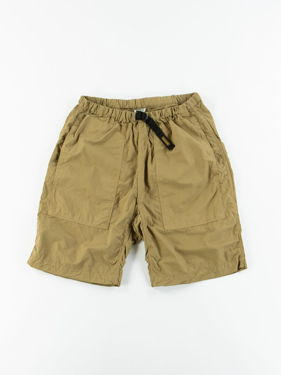 Gold Brown Typewriter Cloth Climbing Short