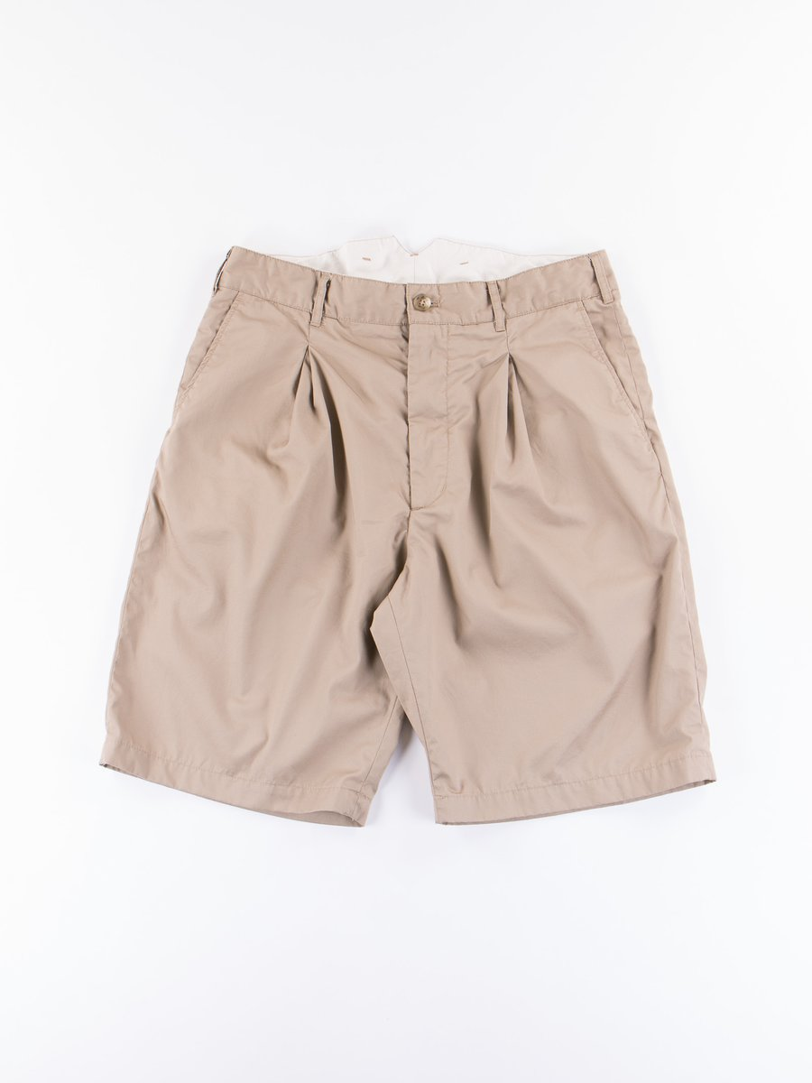 Khaki High Count Twill WP Short