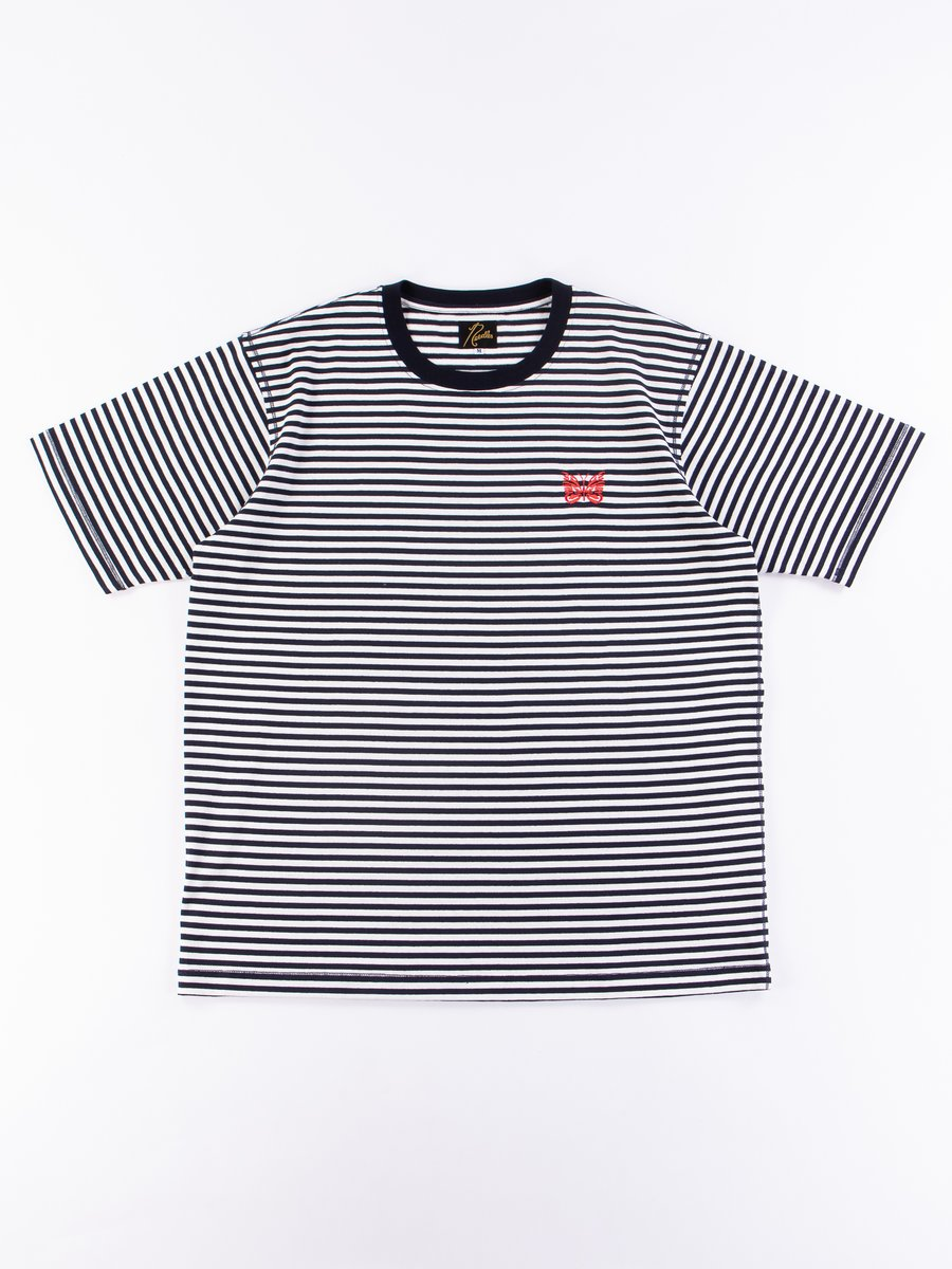 Off White Jersey Stripe Papillon Tee