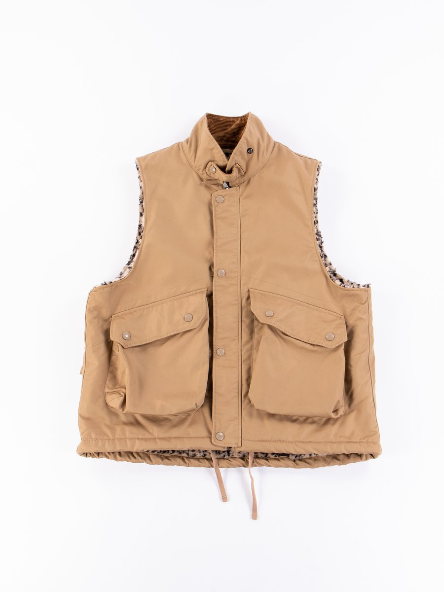 Orange PC Iridescent Twill Field Vest