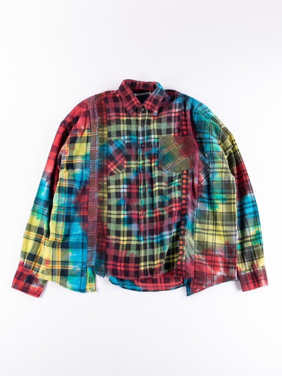 Tie Dye Assorted 7 Cuts Rebuild Shirt
