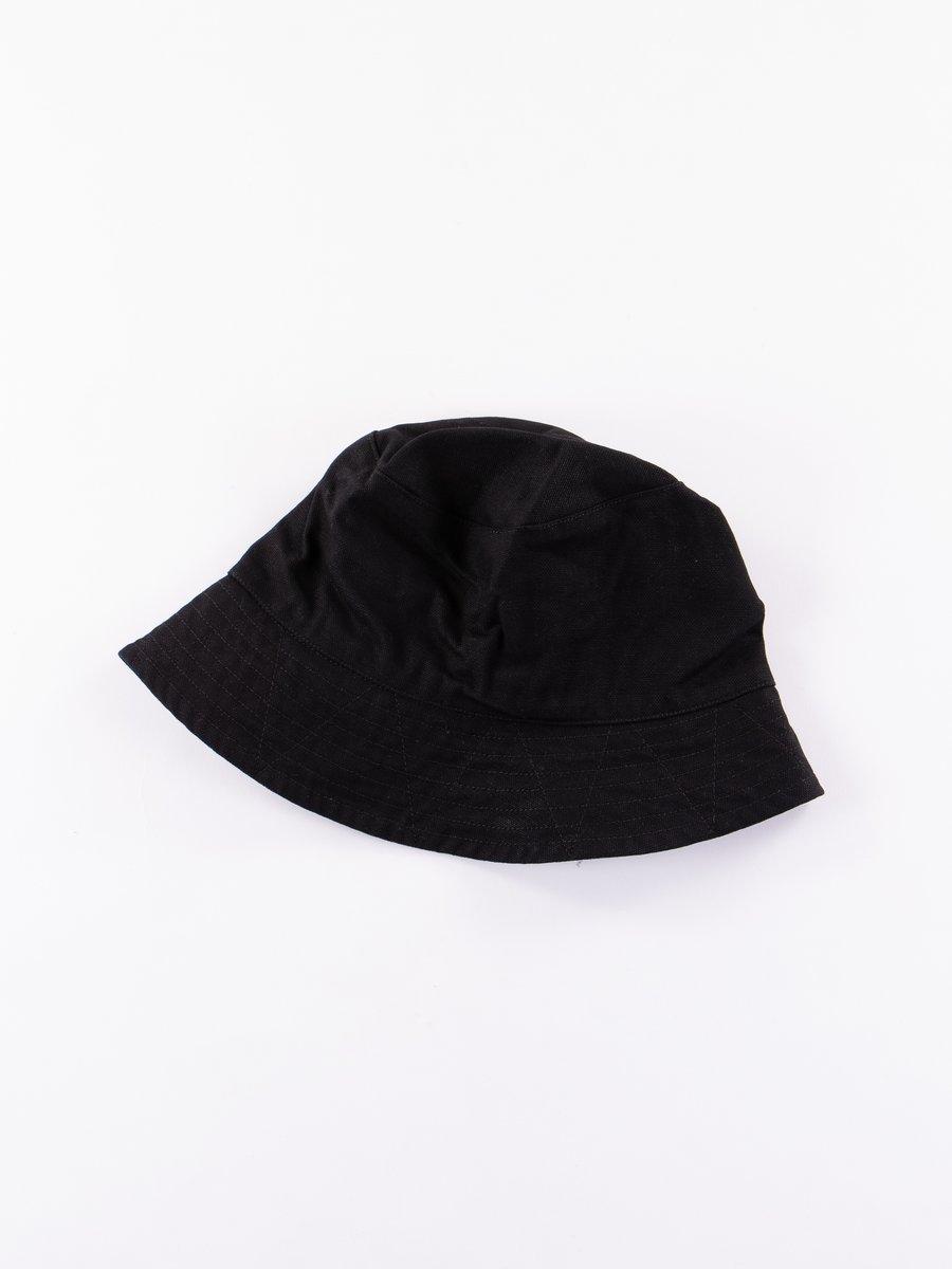Black 12oz Duck Canvas Bucket Hat