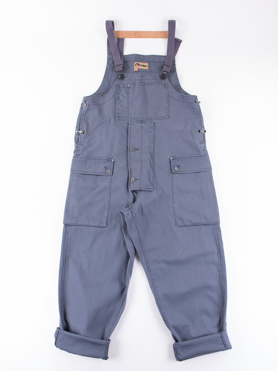 Lybro Washed Blue Naval Dungaree