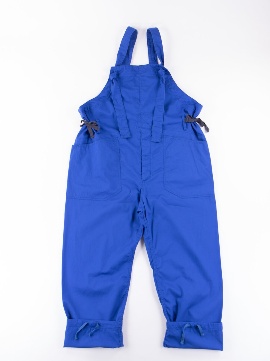 Royal Blue 7.5oz Twill Overalls