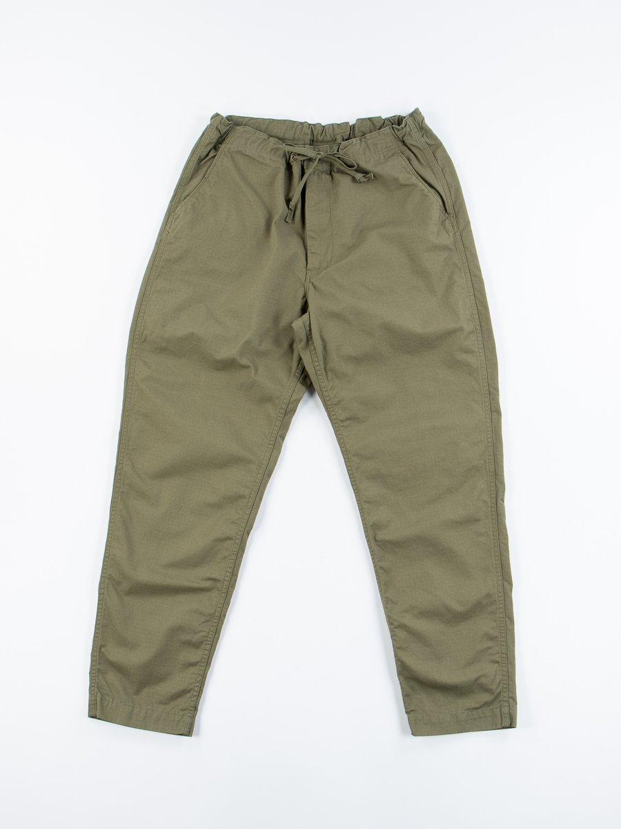Army Green Ripstop New Yorker Pant