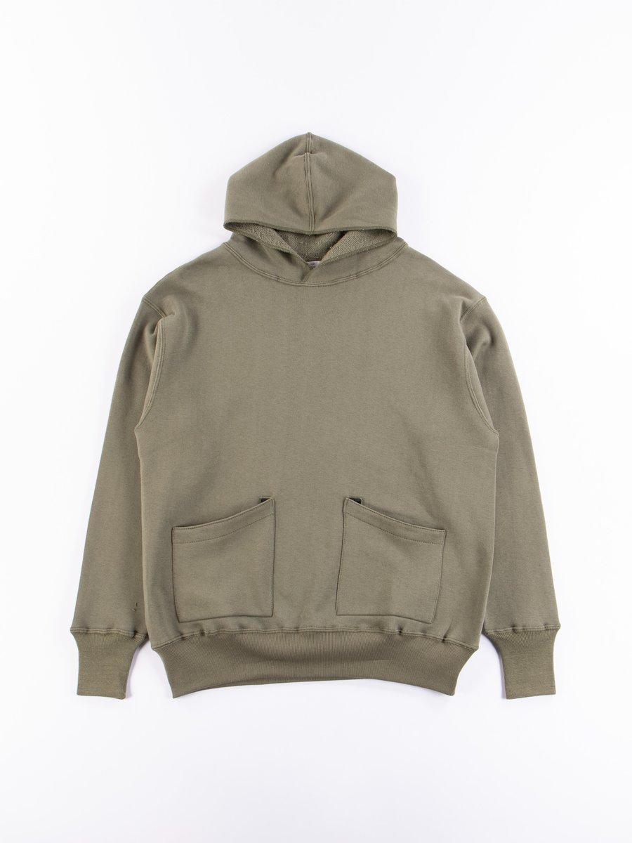 OD Green 450 Separate Pocket Hooded Sweatshirt