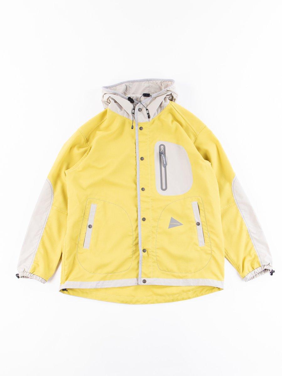 Yellow Vent Hoodie