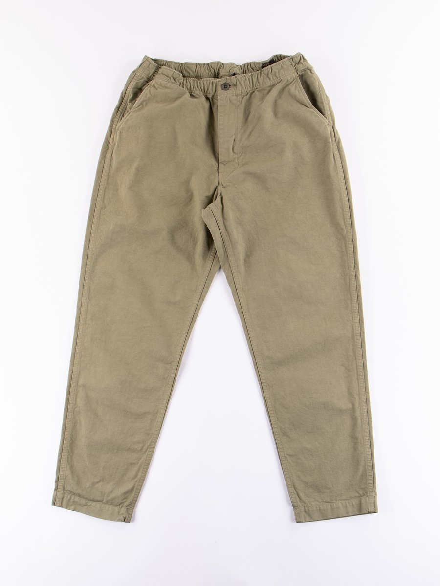 Green Used Overdyed New Yorker Pant