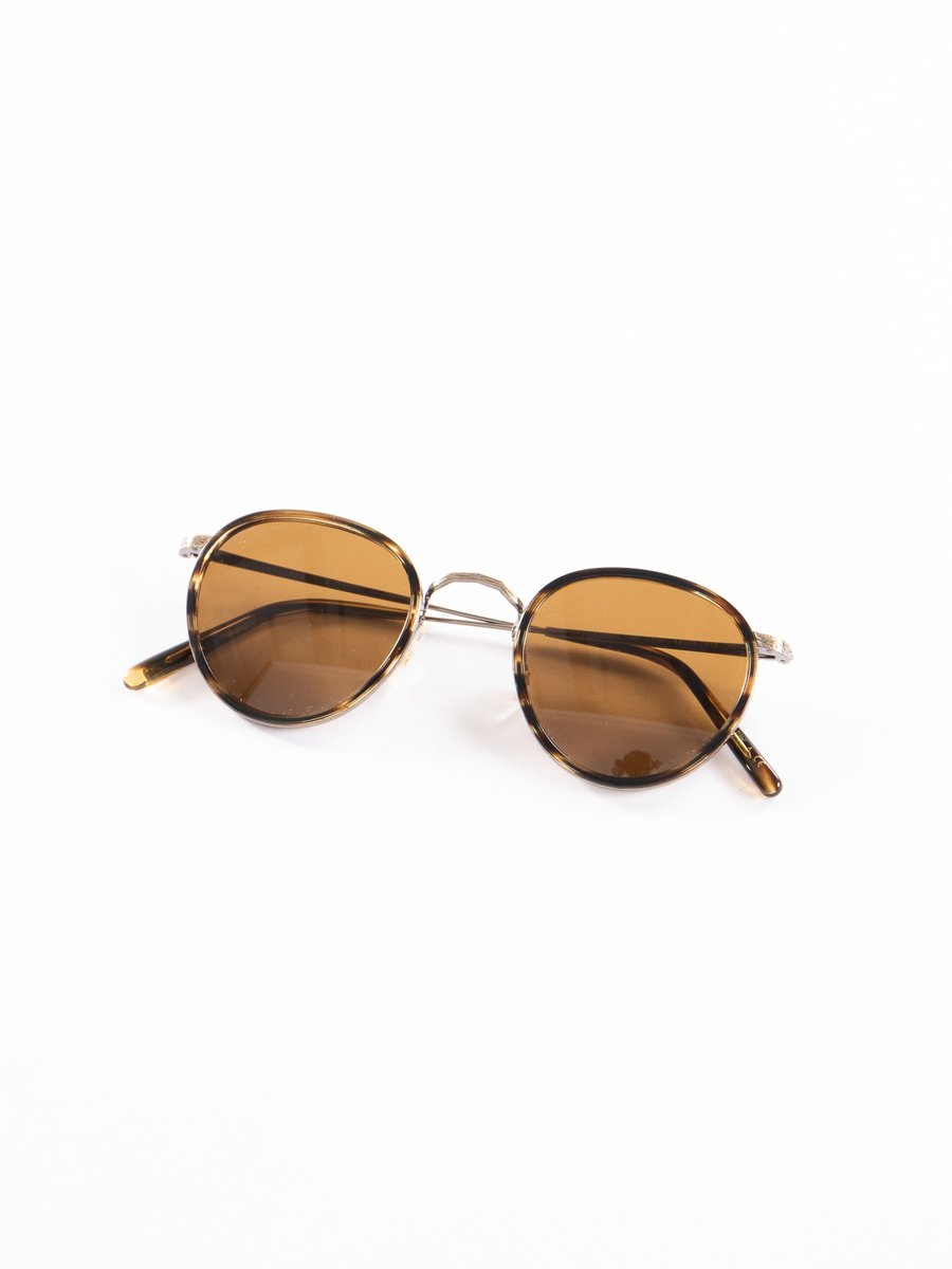 Cocobolo–Antique Gold/Brown MP–2 Sunglasses