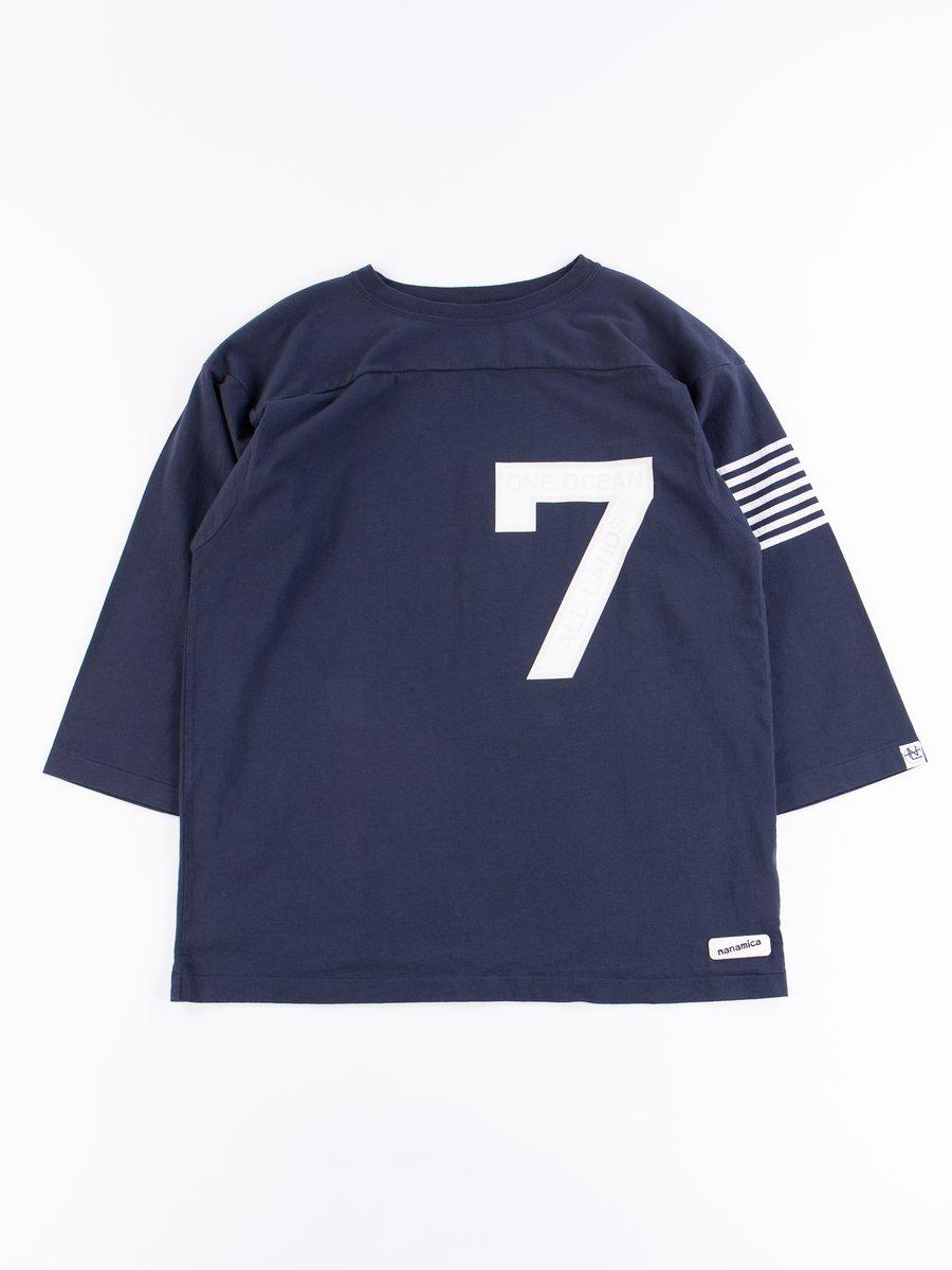 Navy Football Tee