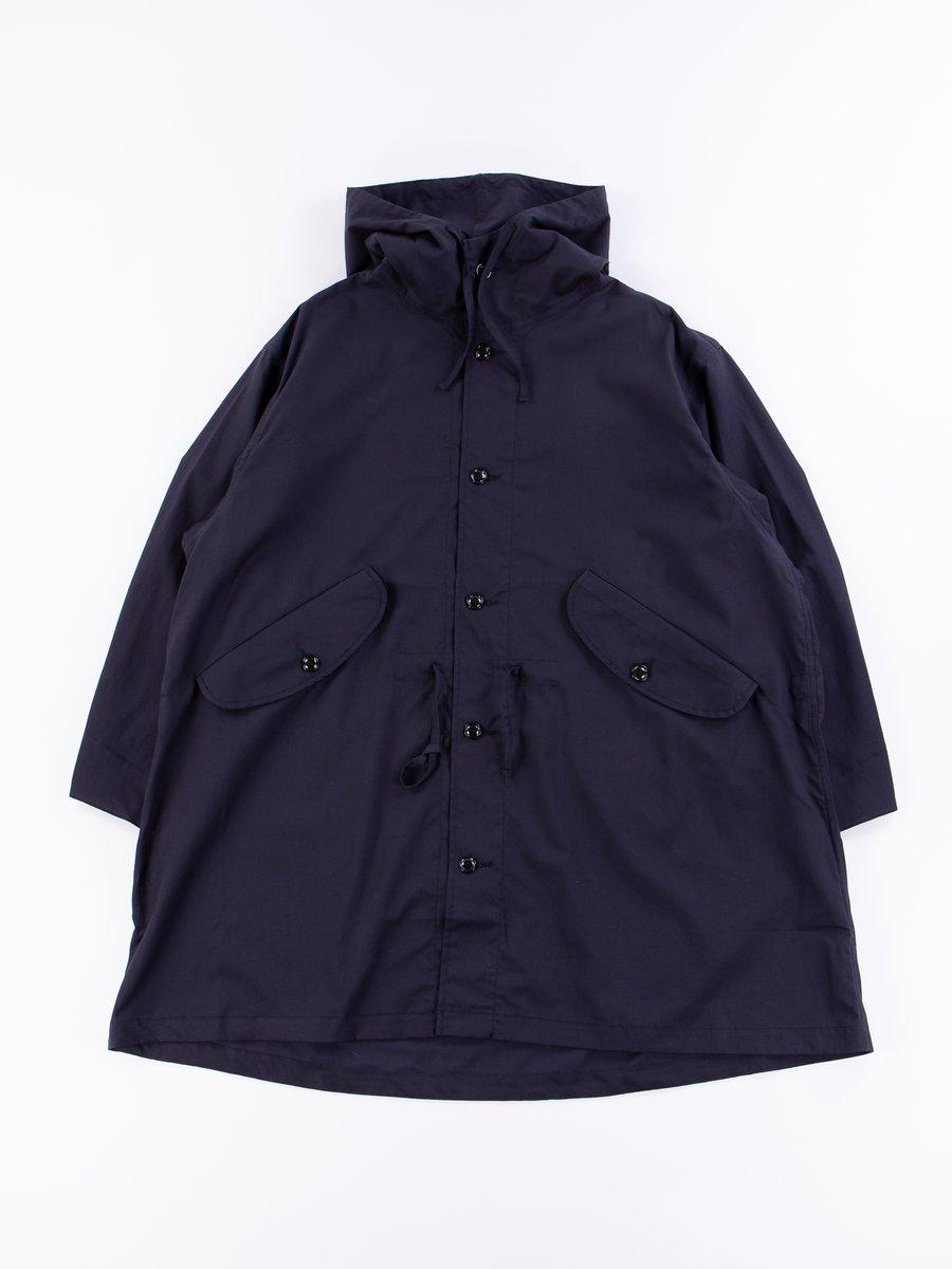 Navy Oxford Vancloth Czech Coat