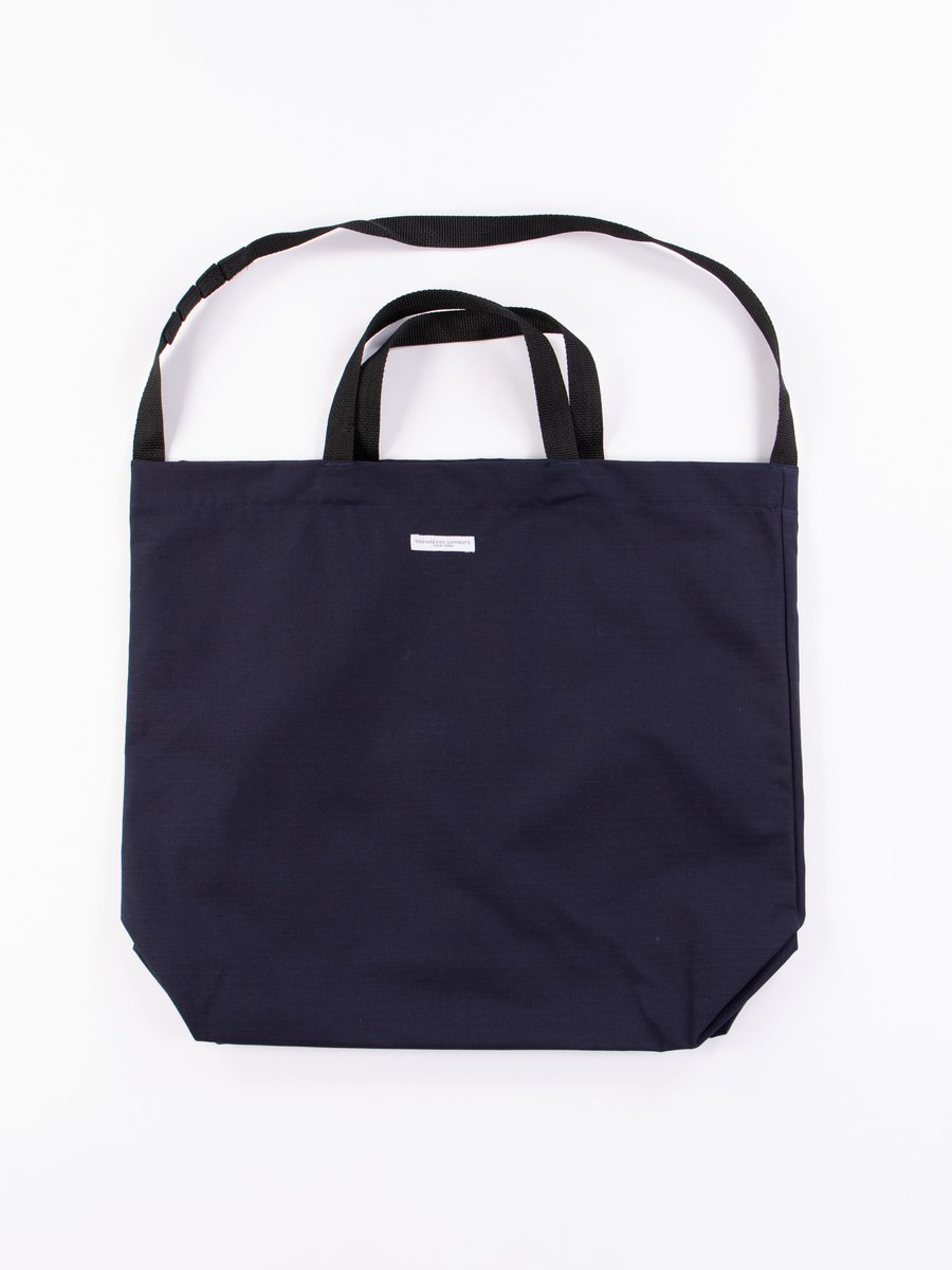 Dark Navy Cotton Ripstop Carry All Tote