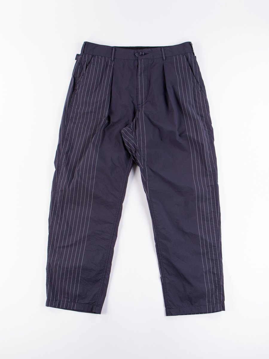 Dark Navy Nyco Gangster Stripe Ground Pant