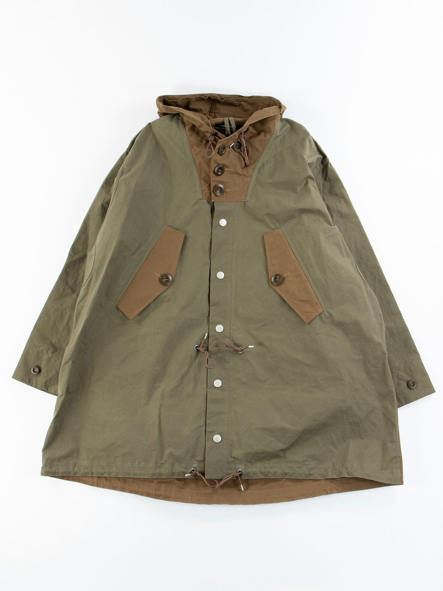 Army Mix Naval Parka