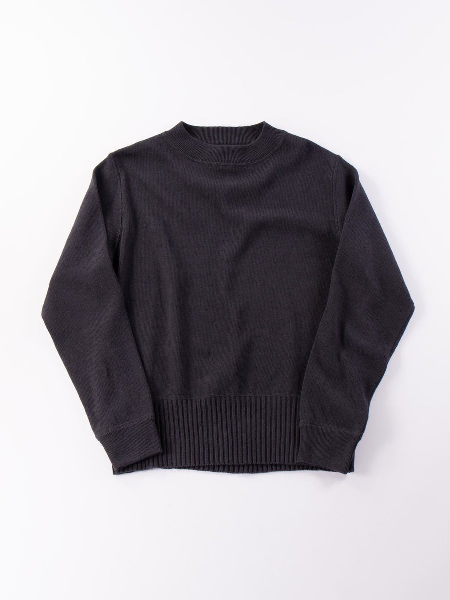 MHL OFFICERS CREW NECK CHARCOAL