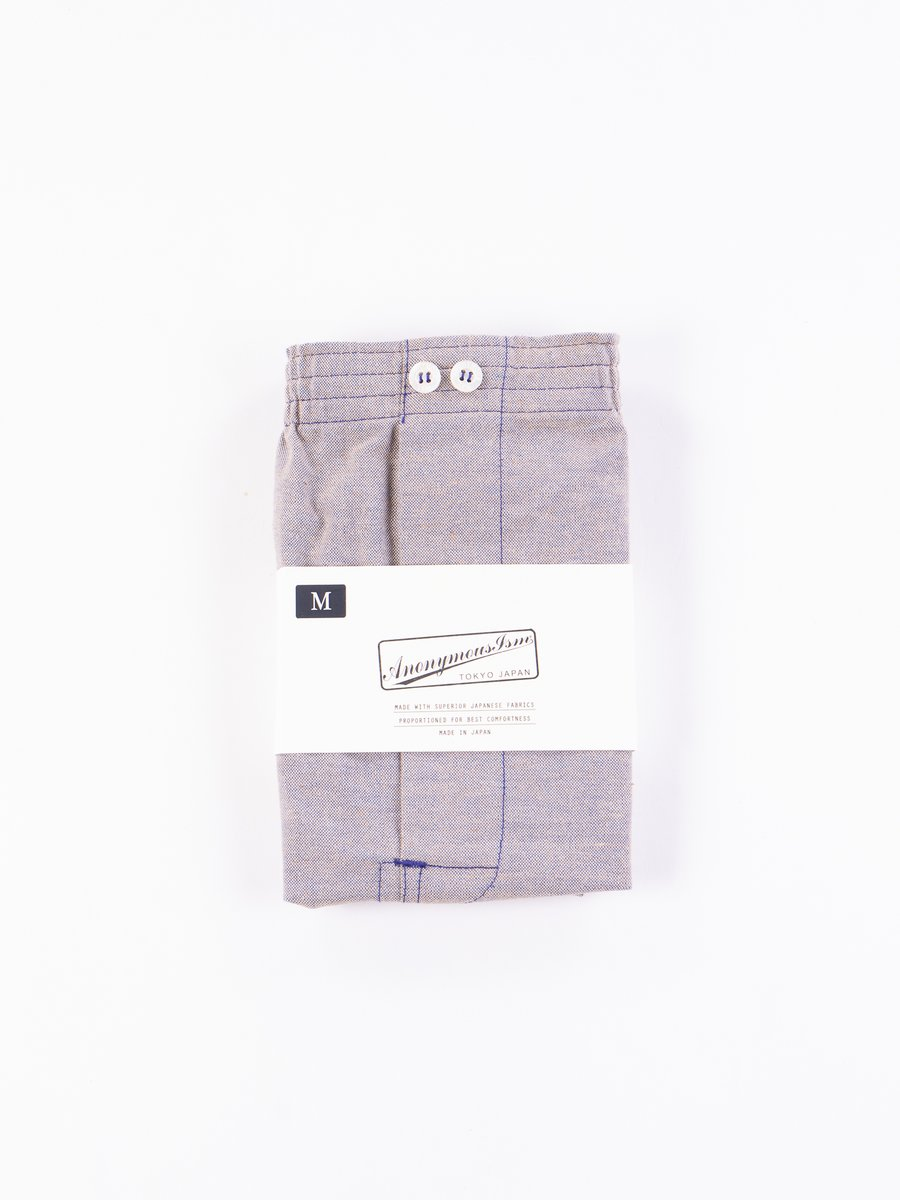 Purple Oxford Vintage Boxer Short