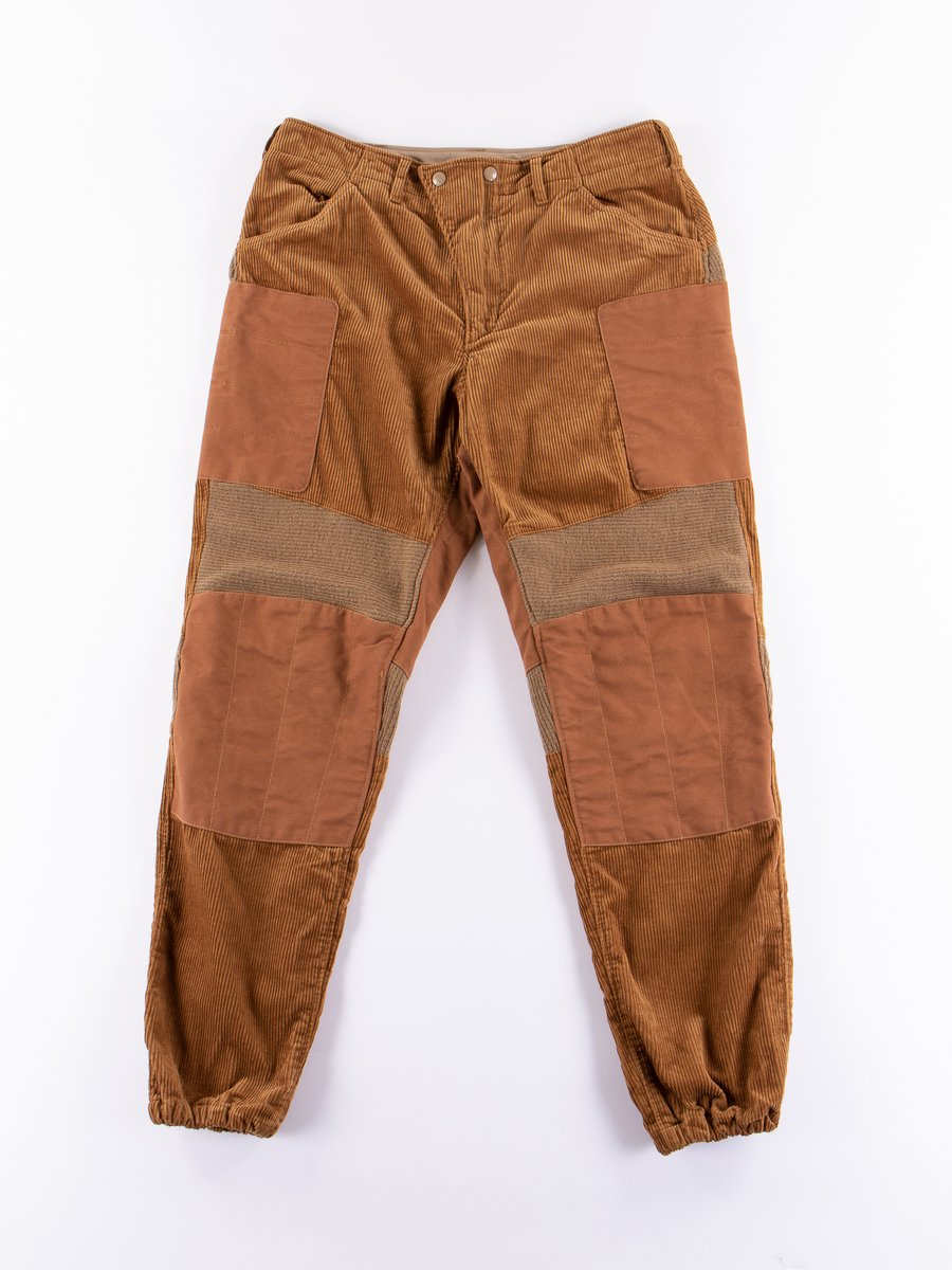 Chestnut 8W Corduroy Moto Pant