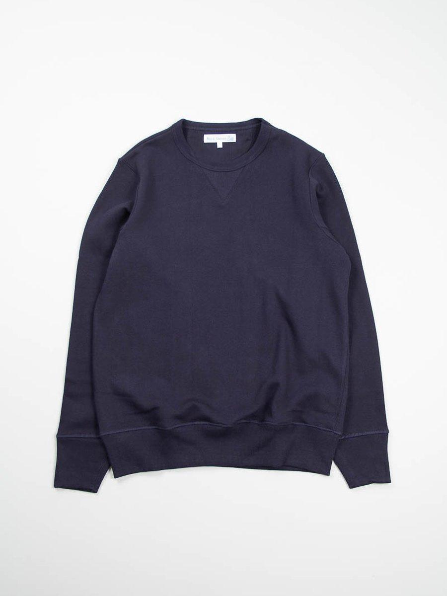 Dark Navy 2S48 Organic Cotton Sweater